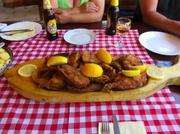 Fisch am Tisch