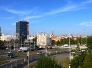 Blick vom Hotel Angelo