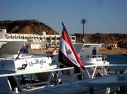 Im Hafen Sharm el Sheikh