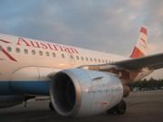 Flug mit Austrian Airlines