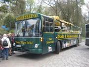 Unser Cabriolet-Eindecker-Bus