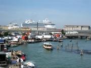 Der Hafen von Venedig