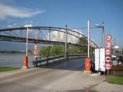 Mautbrücke , für Räder frei