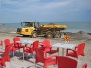 Unser Strand - in Arbeit . . .