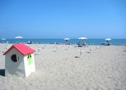 Unser Strand mitte Mai