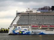 bis 2015 in der Papenburger Werft ( Bremerhaven ) gebaut