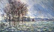 Claude Monet - Hochwasser 1881