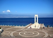 Die Meerenge von Messina