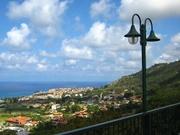 Blick von Hotel nach TROPEA