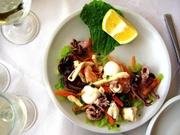 Meeresfrüchte im Restaurant Alex