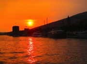 1. Abend in Trogir