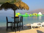 Strand in Okrug auf Halb-Insel Ciovo