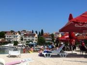 Strandleben in Okrug