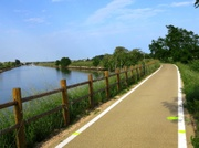 Neuer Radweg nach Cavallino