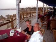 Abenddinner mit Meerblick